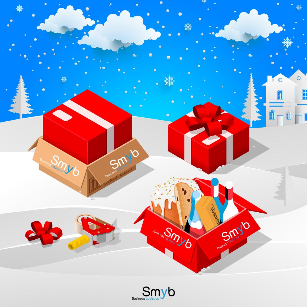 spedizione regali di Natale